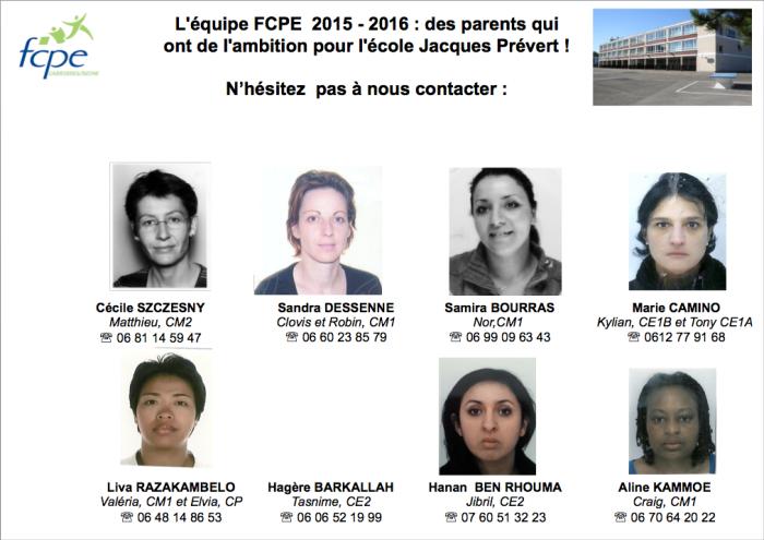 Vos représentants EJP 2015